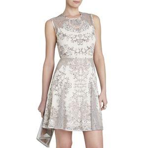 BCBG MAXAZRIA Gwyneth Mini Flared Dress 0688